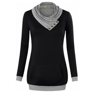 Tops - Women's cowl neck tunic